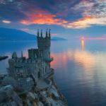 Замок Ласточкино гнездо Южный берег Крыма Достопримечательности