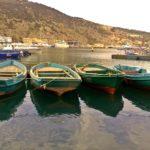 Лодочки в Балаклавской бухте Крым