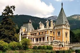 Массандровский дворец в Ялте Достопримечательности Крыма