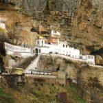 Свято-Успенский монастырь в Бахчисарае Монастырь в скале Достопримечательности Крыма