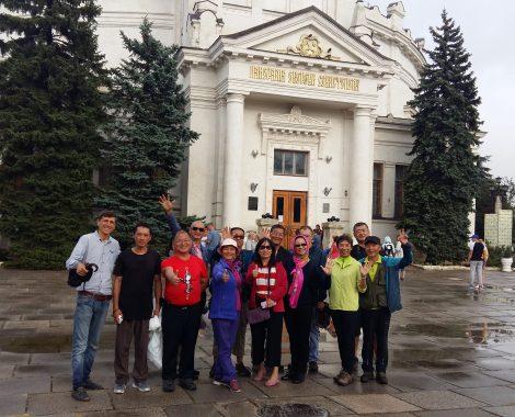 Туристы из Вьетнама в Крыму Севастополь Экскурсии