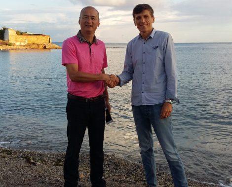 Гид по Крыму с гостями из Вьетнама